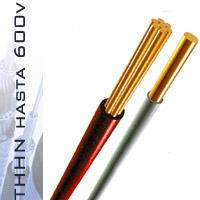 Comprar Alambre, cables de cobre tipo THHN 600V-90°C