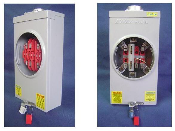 Comprar Caja metalica para medidores CL20 y 200