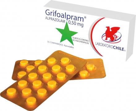 Comprar Benzodiazepina de acción intermedia Grifoalpram
