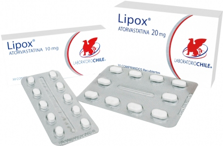 Comprar Antihiperlipémico. Inhibidor de la HMG-Co A reductasa Lipox