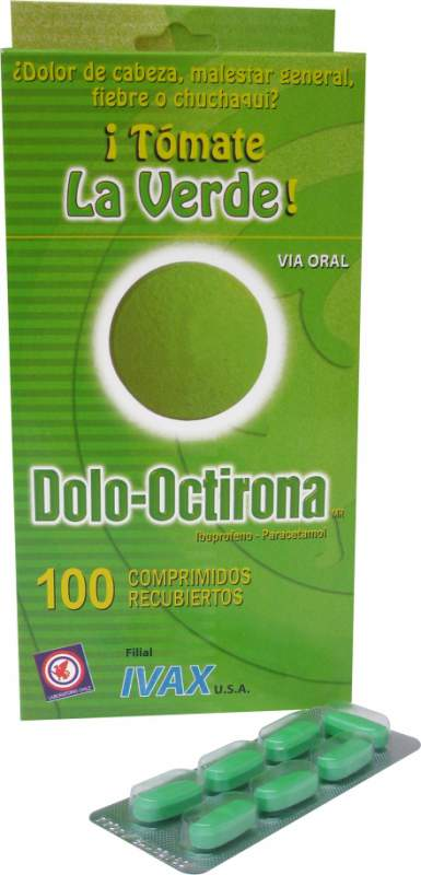 Comprar Analgésico / Antiinflamatorio / Antipirético Dolo-Octirona