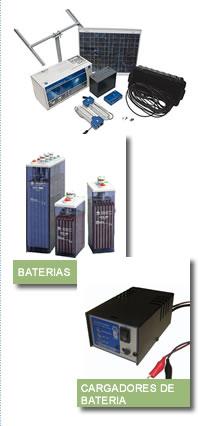 Comprar Equipos adicionales necesarios para el ensamble de los sistemas de energía alternativa