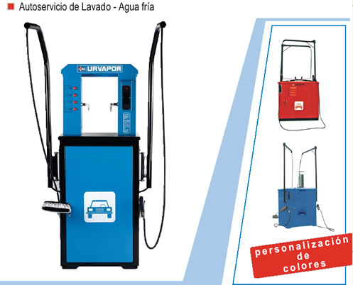 Comprar Autoservicio de Lavado - Agua Fria