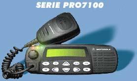 Comprar Radios Bases o Móviles de la Serie PRO 7100