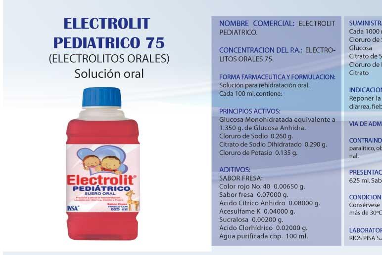 Comprar Electrolit pediatrico 75