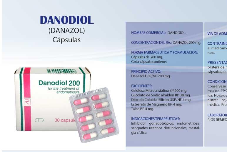 Comprar Danodiol (danazol)