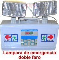 Lampara de Emergencia Doble Faro