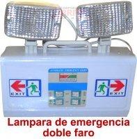 Comprar Lampara de Emergencia Doble Faro