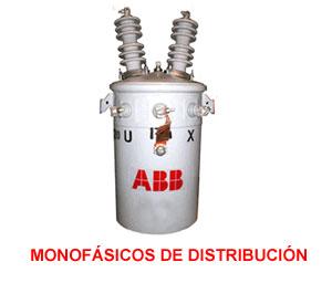 Comprar Transformadores monofasicos de distribucion