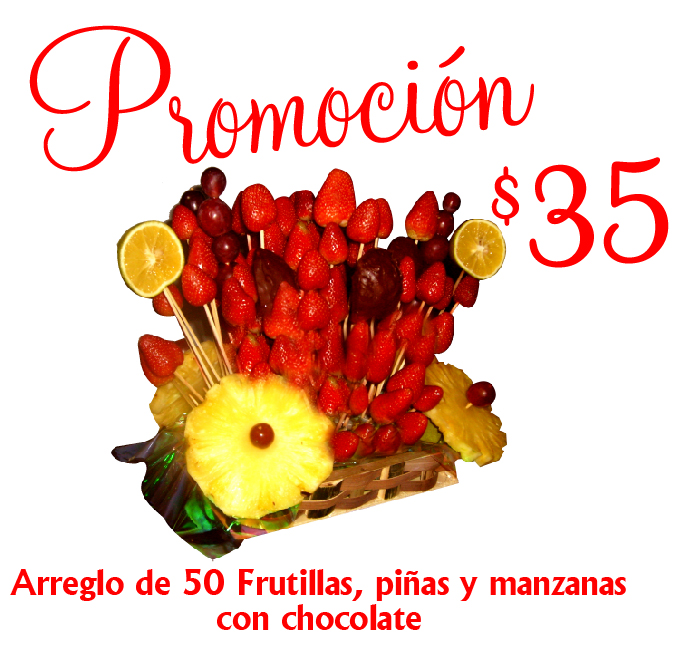 Comprar Frutillas con chocolate