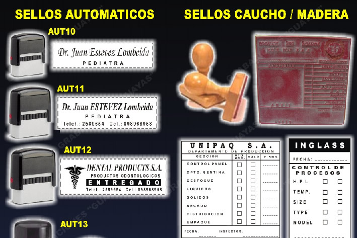 Comprar Sellos automaticos