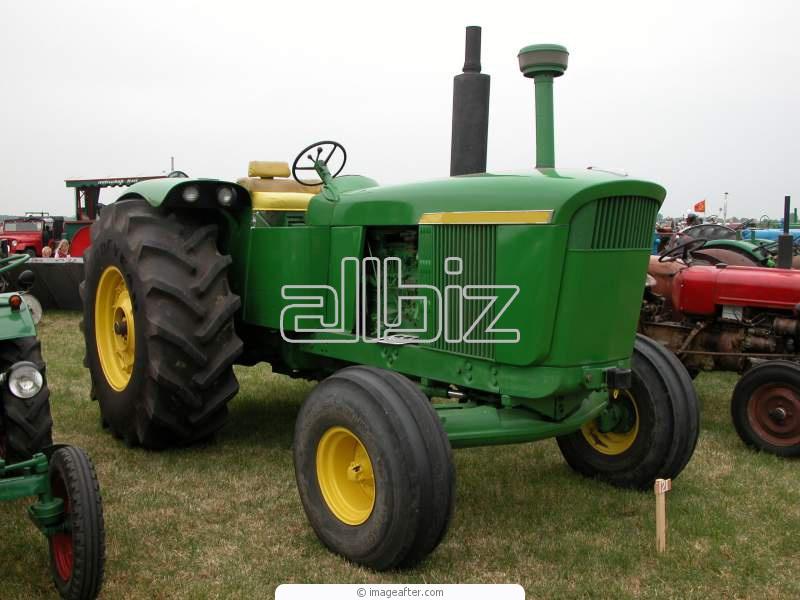 农业履带的拖拉机 拖拉机和联合机