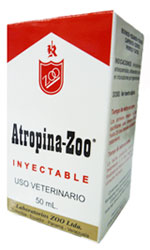 Comprar ATROPINA ZOO 50 ML $ 13 USS 1 MG/ML