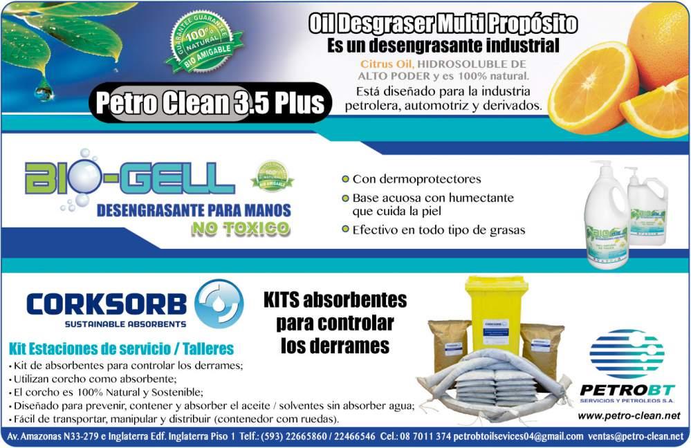 Comprar PETRO-CLEAN 3.5 OIL DESGRASER ORANGE