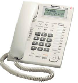 Comprar Telefono manos libres, Call ID, LCD KX-T7716 Panasonic