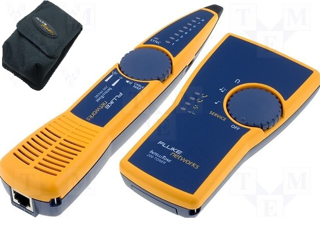 Comprar KIT Generador de tono + Tester de Cable + Estuche Fluke Networks