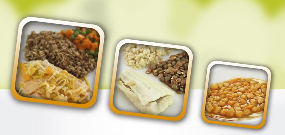 Comprar Raciones alimenticias, cocidas congeladas balanceadas nutricionalmente