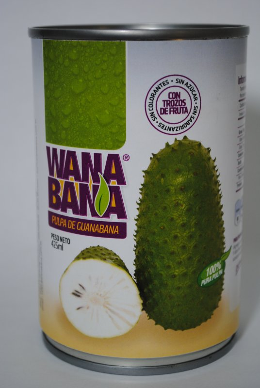 Comprar Soursop Canned Pulp