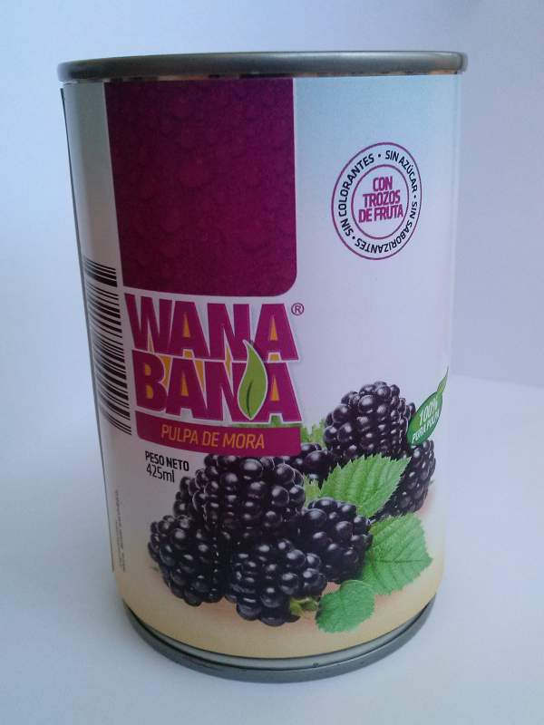 Comprar Blackberry Canned Pulp