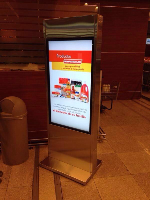 Comprar Monitor Profesional para publicidad 24/7 Panasonic