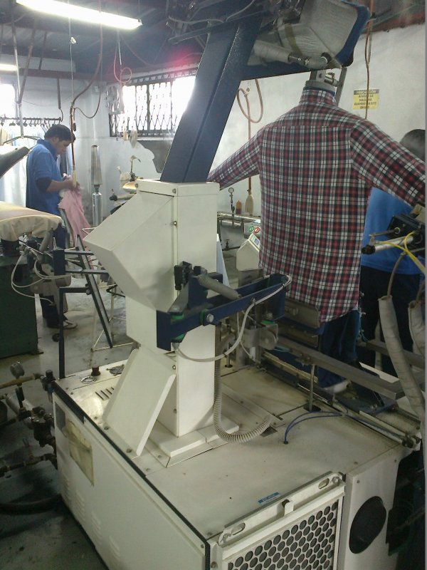 Máquinas para Planchar. Ironing and Finishing Machinery.