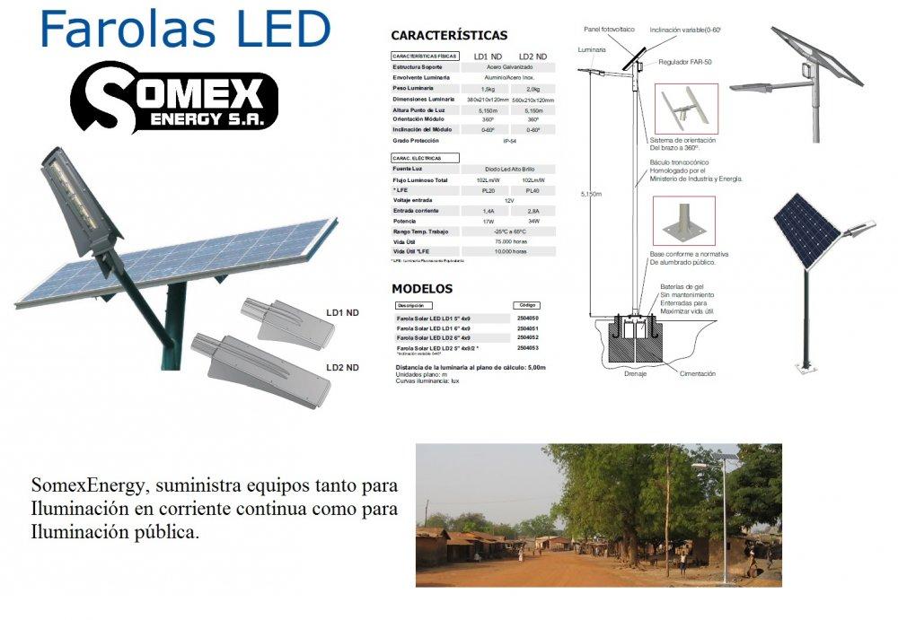Comprar Iluminarias solares