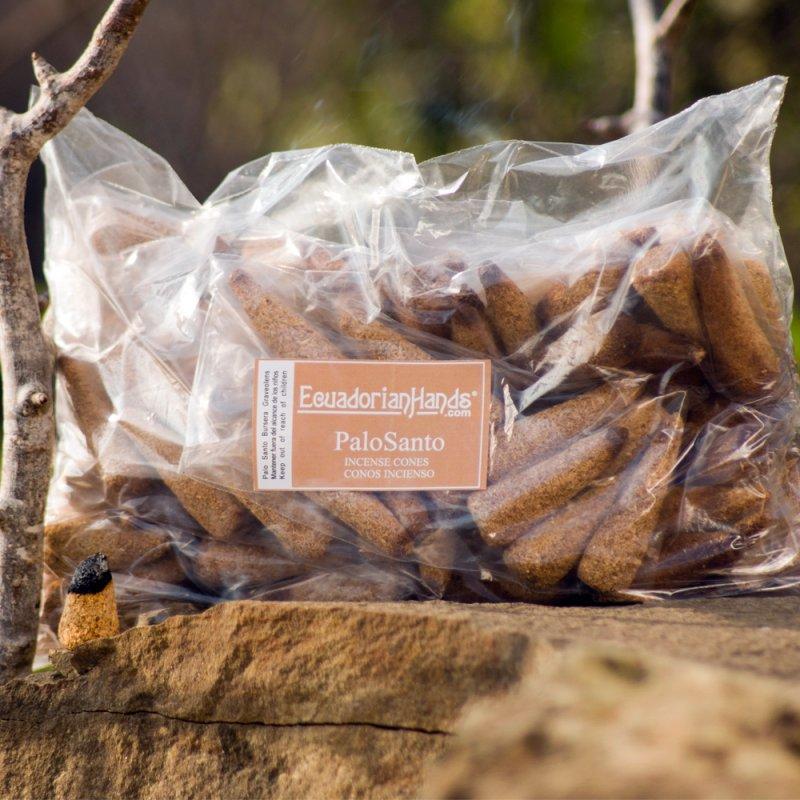Comprar 3000 cones Incense Palo Santo Bursera Graveolens