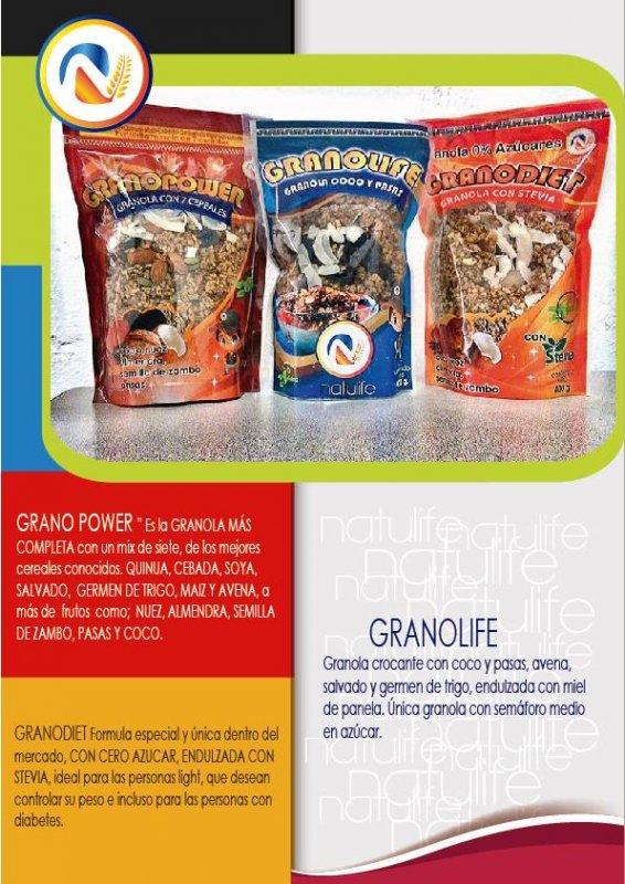 Comprar Granola y cereales para el desayuno