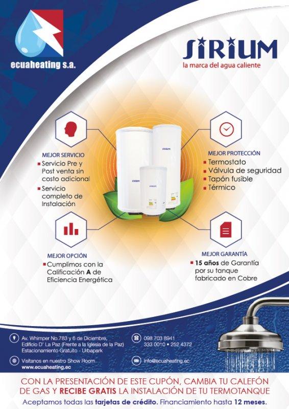 Comprar Calentadores Eléctricos de Agua de Acumulación
