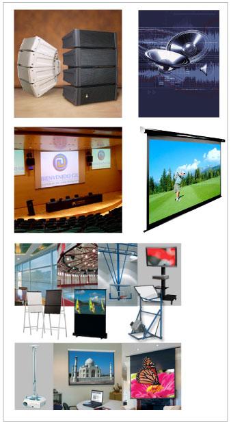 Comprar Sistemas de Sonorización y Video proyección