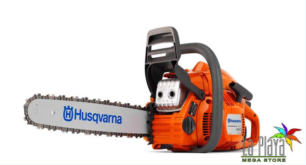 "Comprar Motosierra Husqvarna 445E 2.8HP 45CC 18"""