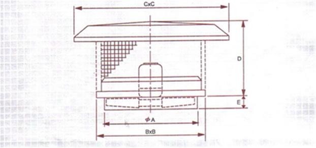 Comprar Extractores de aire Ventiladores axiales de Cubierta