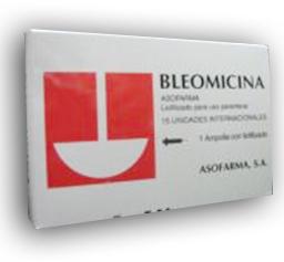 Comprar Bleomicina®(Bleomicina frasco – ampolla 15 mg)
