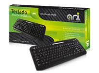 Teclado ARI 27096 multimedia