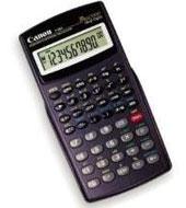 Calculadora canon cientifica f604