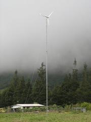 Aerogenerador de 1000W con torre de 18m