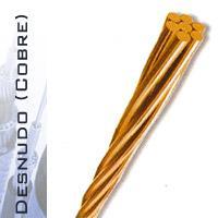 Cables desnudos de cobre suave y semi - duro 70°