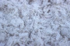 Asbesto y grafito en polvo