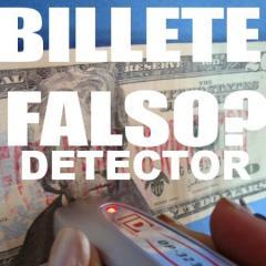 Detector Magnetico Billetes Falsos
