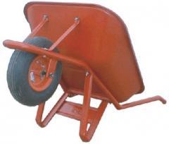 Wheelbarrows for construction