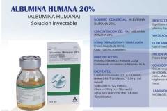 Albumina humana 20 %