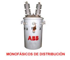 Transformadores monofasicos de distribucion