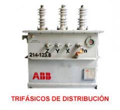 Transformadores trifasicos de distribucion