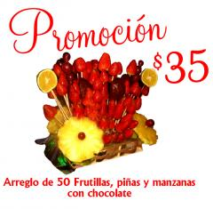Frutillas con chocolate