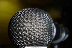 Microfones profesionl