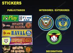 Stickers publicitarios