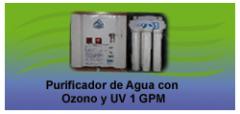 El sistema de purificacion con filtracion