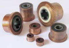 Colectores para motores eléctricos y generadores
