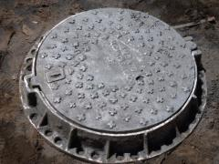 Tapa de hierro ductil