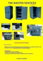 Cajas fuertes de camion repartidor de productos